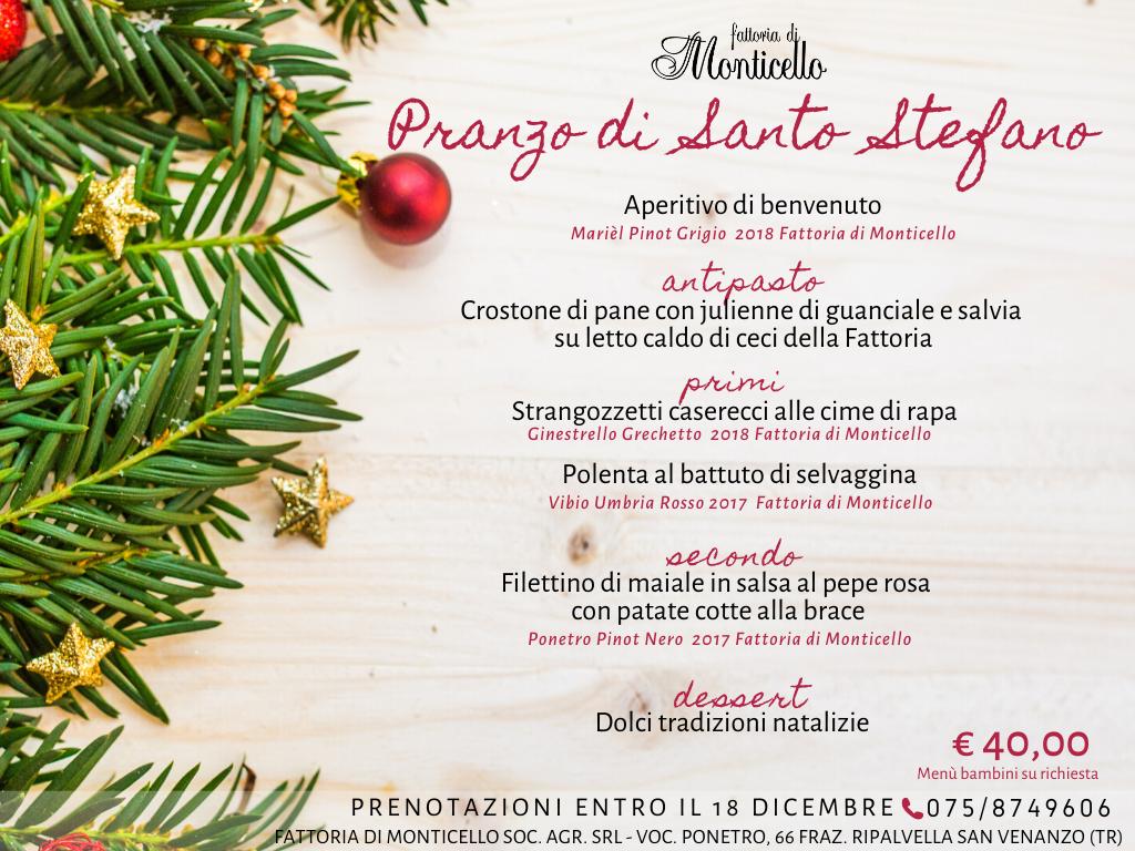 Antipasto Di Natale Umbria.Eventi E News Fattoria Di Monticello